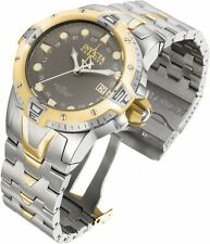 Invicta 0650 Reserve Collection Sea Excursion GMT Light Gray Dial Model 0650