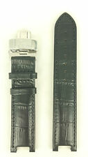 Guess Collection X65009G2S Watch Strap GC7000 Black Watch Band + Clasp GC Sweep