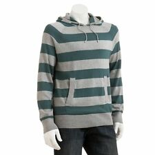 New SONOMA life + style Men's Wide-Striped Pullover Hoodie Size XXL MSRP $60
