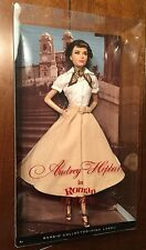 Barbie AUDREY HEPBURN In Roman Holiday Model Muse Doll NEW IN BOX Sold Out!