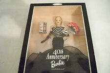 1999 40th Anniversary Collector Edition Barbie Doll - NRFB
