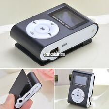 Supprot 32G 32GB LCD Screen MP3 Music Video Media Player FM Radio Black New ON