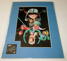 Tenchi Muyo Limited Edition Transparency Matted LASER ART #074 OF ONLY 500