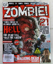 ZOMBIE Magazine Issue No. 1 GLOW IN DARK COVER Walking Dead MOVIES TV Cosplay ++