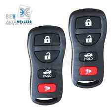 2 X Replacement Keyless Entry Car Remote Key Fob Control Nissan 2007-2011 Sentra