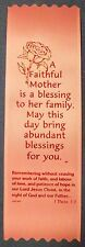 """A Faithful Mother is a blessing..."" Mother's Day ribbon bookmark (Pack of 50)"