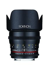 New Rokinon Cine DS 50mm T1.5 Cine Lens for Nikon - Model DS50M-N