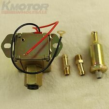 New 12V Universal Electric Fuel Pump Metal Solid Diesel or Petro 4-6 PSI EP014