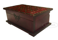 Celtic Chest Puzzle Box Polish Handmade Wood Celtic Keepsake Secret Opening