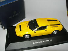 Ixo Models 1:43 CLC 085 Maserati Merak SS 1977 Yellow NEW