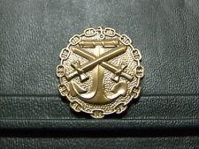 Pin Marine Anker Schwerter Abzeichen - 3,5 x 3 cm