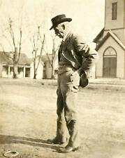 WYATT EARP VINTAGE PHOTO LAWMAN TOMBSTONE OK CORRAL #20492