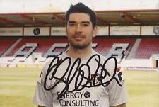 BOURNEMOUTH: RICHARD HUGHES SIGNED 6x4 PORTRAIT PHOTO+COA