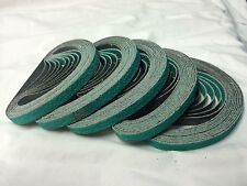 Sanding Belts 3M 330mm x 10mm 60g x 50pc. Zirconia linishing abrasive polishing
