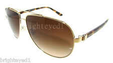 Authentic VERSACE Gold Aviator Sunglass VE 2151 - 125213 *NEW*