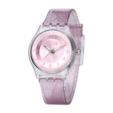 Newyork Army Pink Transparent Shimmer Women's Watch - NYA1313 COD PAYPAL