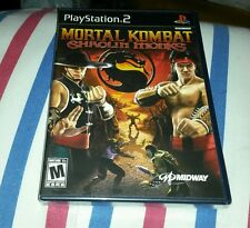 MORTAL KOMBAT SHAOLIN MONKS PS2 BLACK LABEL FIGHTING GAME FACTORY SEALED NEW
