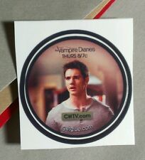 VAMPIRE DIARIES JEREMY STEPHEN MCQUEEN GREY SHIRT GET GLUE STICKER
