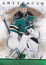 12-13 Artifacts Antti Niemi /75 Jersey PATCH EMERALD
