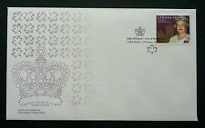 Canada Queen Elizabeth II Coronation 2003 Royal Crown (stamp FDC)