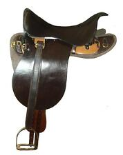 Handcrafted UP 1912 Swivel Tree Military Saddle  - unmounted