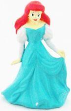 ARIEL Disney LITTLE MERMAID BLUE DRESS PRINCESS PVC Figure CAKE TOPPER FIGURINE!