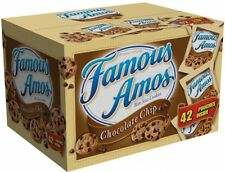 Famous Amos Chocolate Chip Cookies Brand New 2oz 42ct