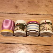 JOULES EGG CUPS ..SET OF 4..MARKET HARBOROUGH DESIGN..NEW.