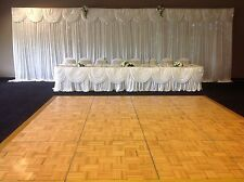 Telescopic Stand,Starlight back drop,Cake table skirt,Top Table skirt With Swag