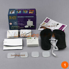Portable Dual Muscle Therapy System Nerve Stimulator Back Chronic Pain Relief