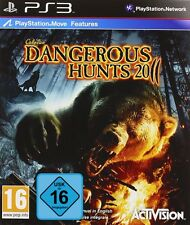 PS3 Cabela's Dangerous Hunts 2011 Move compatible NIP Playstation 3