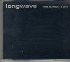 (CL800) Longwave, Wake Me When It's Over - 2003 DJ CD