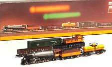 8139 Marklin Z-SCALE  Mikado Milwaukee Road Train 5 car set