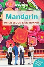 Mandarin Phrasebook and Dictionary by Lonely Planet (2015, Paperback)