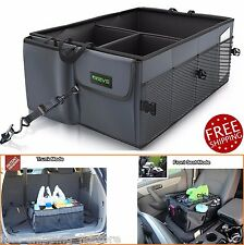 Auto Trunk Organizer Car Suv RV Cargo Storage Collapse Folding Box With Straps