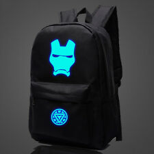 Marvel Comics Avengers IRONMAN Luminous Backpack Student School Bag ay02