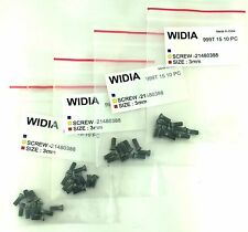 LOT OF 40 TORX SCREWS WIDIA M3X8mm SCREW FOR INDEXABLE INSERT