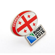 Rugby World Cup 2015 Georgia Flag Pin
