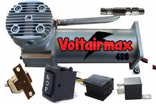 VoltAir 480C Air Compressor w/Circuit Breaker Kit Display Model Small Scratches)