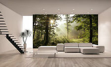 SPRING FOREST Wall Mural Photo Wallpaper GIANT DECOR Paper Poster Free Paste