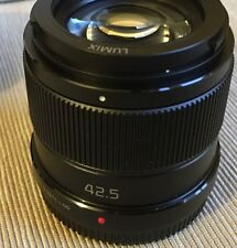 Panasonic Lumix G 42.5mm F/1.7 Power O.I.S. MFT Lens - Mint