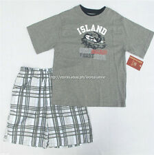 50% OFF! AUTH FADED GLORY 2-PC TEE & SHORTS SET SZ 7 / 6-8 YEARS BNWT US$ 18.99