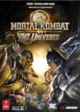 Mortal Kombat vs. DC Universe : Prima Official Game Guide for Xbox 360 & PS3