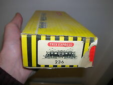LEERKARTON H0 - für TRIX Express SBB BLS E-Lok 236 braun - 60er Jahre