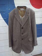 Men's Quality Crombie 100% Wool Coat Size 44