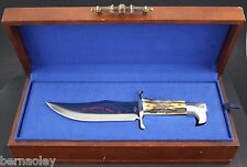 Case XX Knife ~ 1976 American Spirit Double Eagle Stag Presentation Bowie