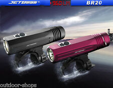 JETBeam BR10 BR20  up to 960 lumens flashlight USB 18650 charging  bike light