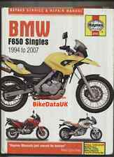 BMW F650 (1994-2007) Haynes Work Shop Manual F 650 GS ST CS Funduro Dakar Strada