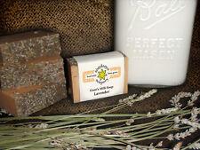 Homemade/Handmade Soap- Goat's Milk- LAVENDER - Love Your Skin Again!!  Amazing!