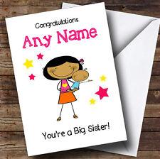 Asian grande soeur Félicitations Nouveau Bébé Garçon frère personnalisé frère carte